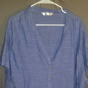 Riders by Lee Chambray Top